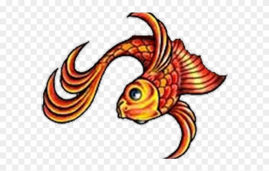 12232081e373c Koi Clipart Maori - Koi Fish Tribal Design Png Transparent Png. Free  Download