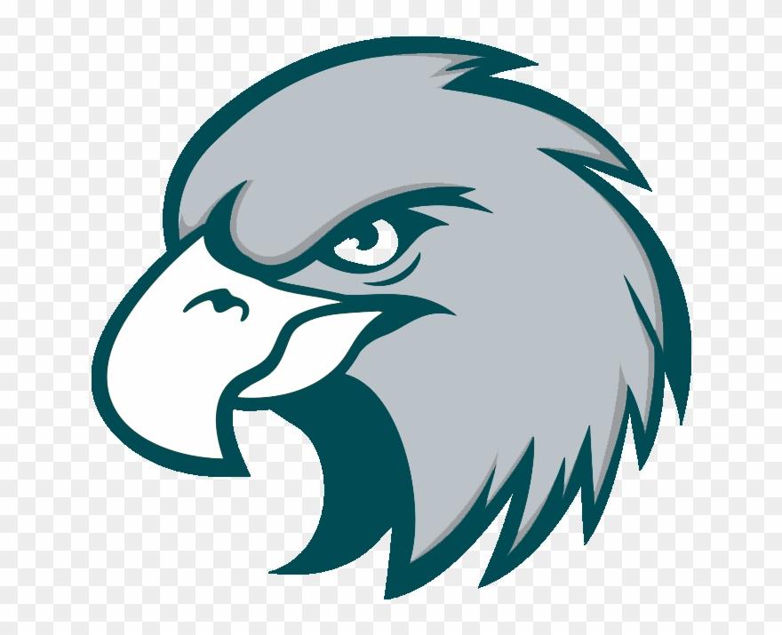 Eagles angry. Orlando bird head cartoon