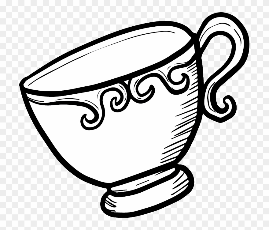 Copyright C Invite Shack Tea Cup Png Drawing Clipart 764800 Pinclipart