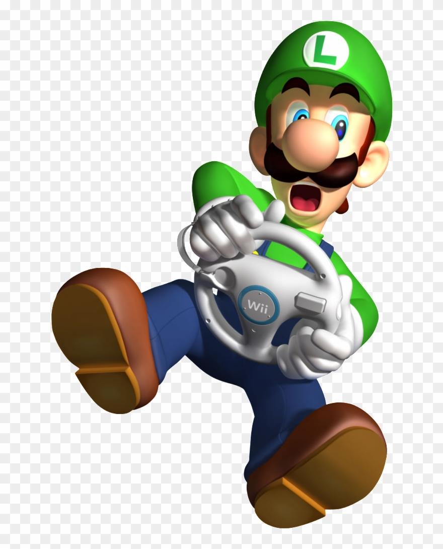 Mario Kart Wii Mario And Luigi Clipart 772408 Pinclipart