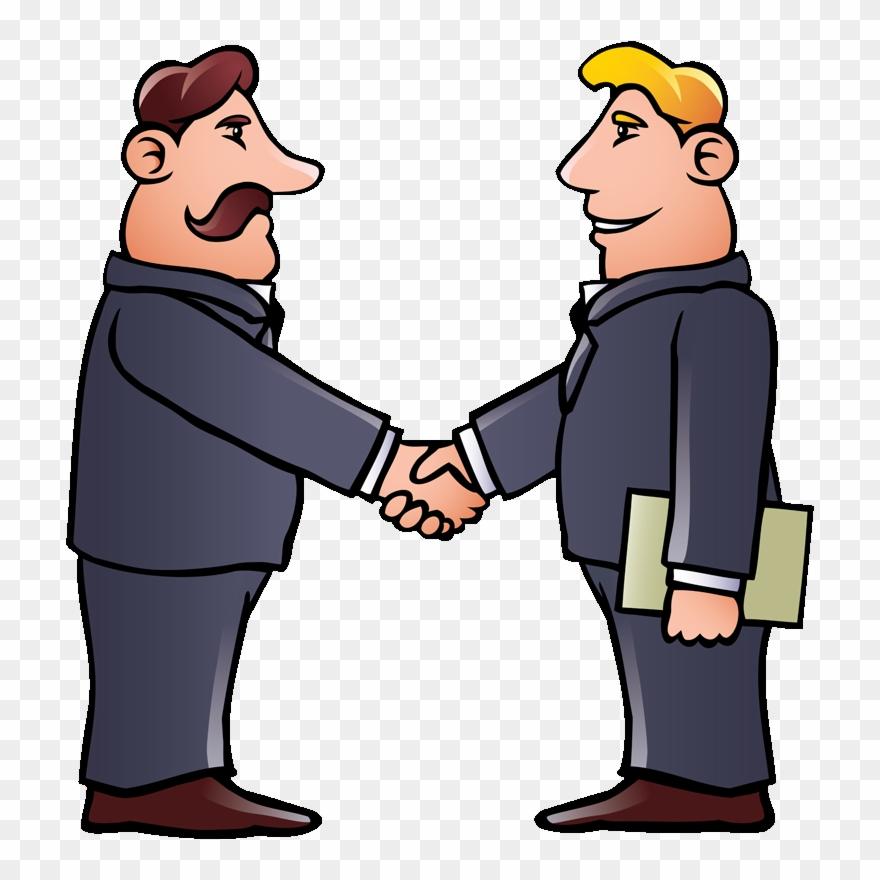 View Hand Shake Cartoon Pic JPG