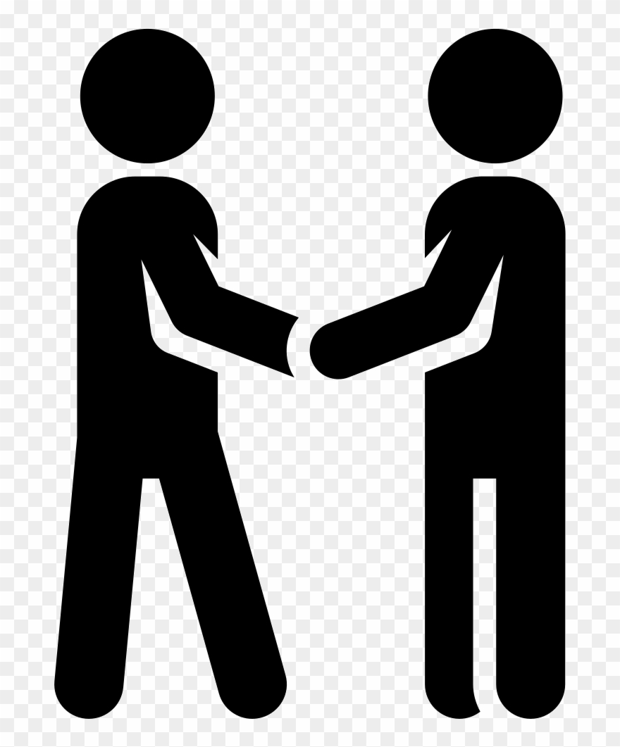 Shaking Hand Icon Clipart (#773753) - PinClipart