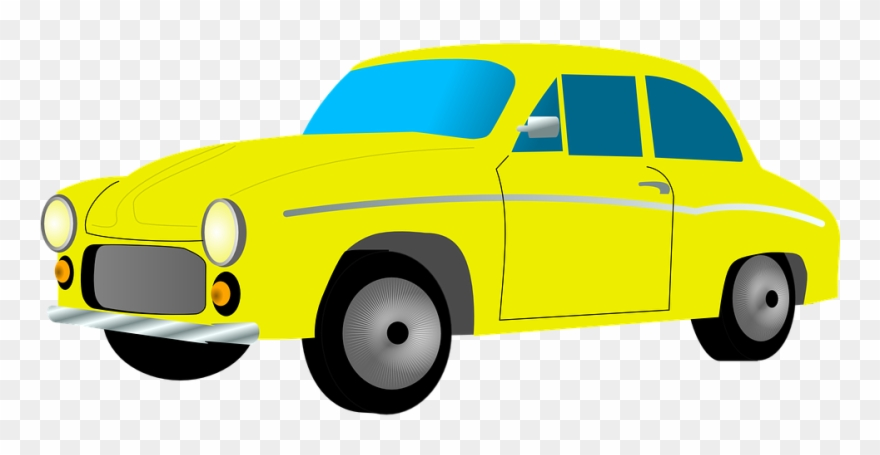 Taxi Cab Clipart Land Transportation