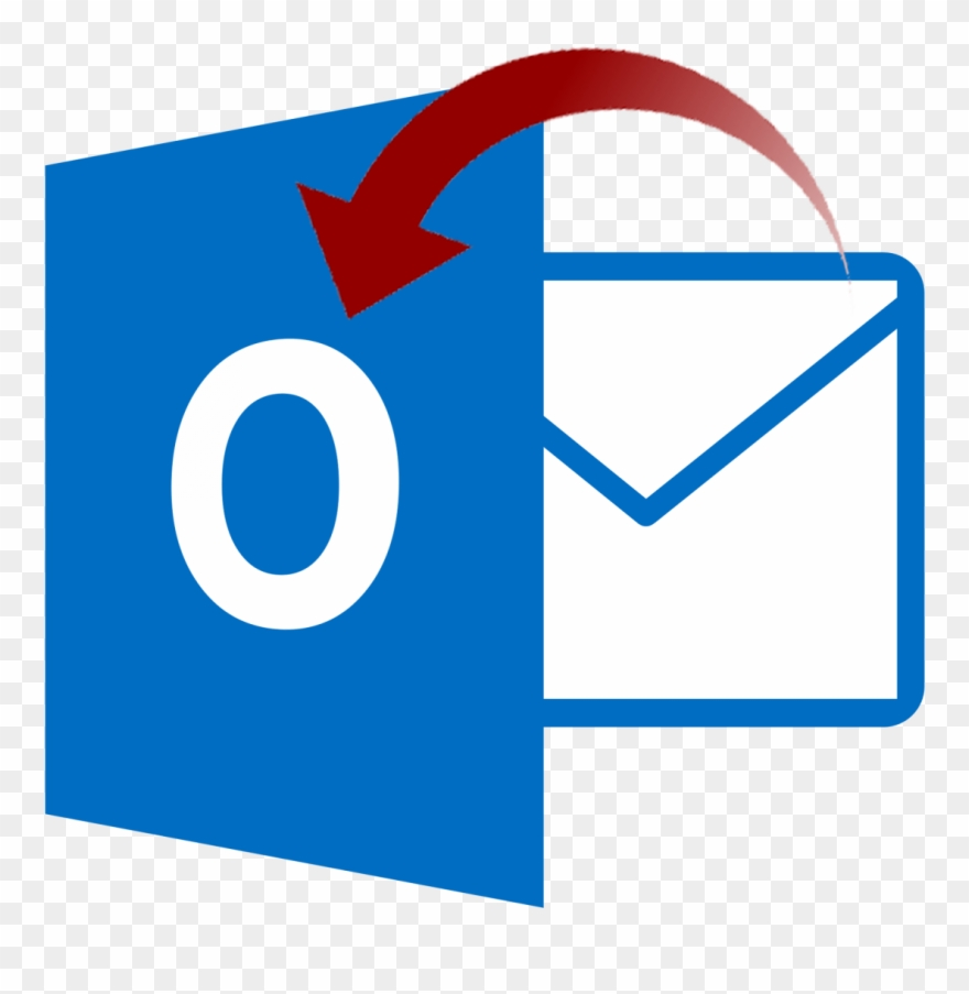 Email Iphone Clipart - Microsoft Outlook - Png Download