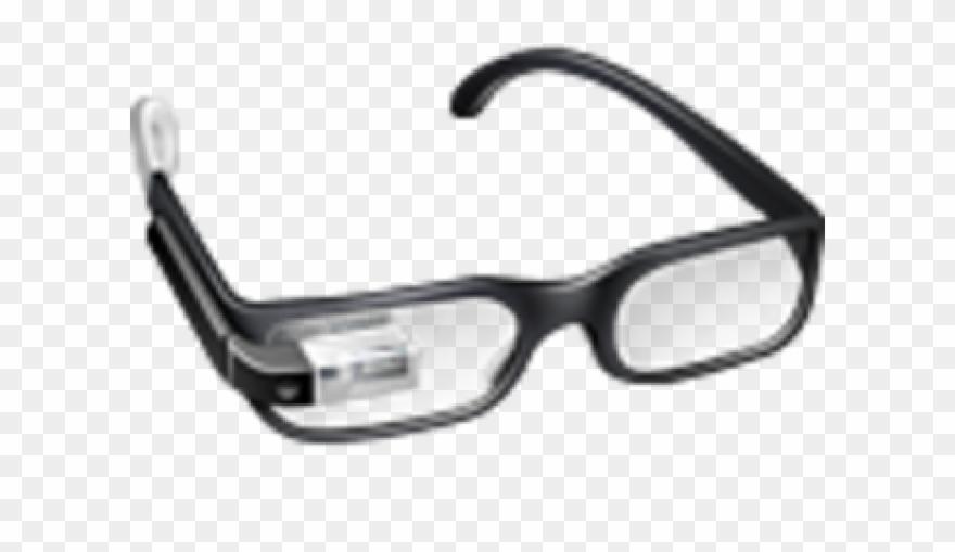 2a0bc1a5767 Sunglass Clipart Gogle - Google Glass Fond Transparent - Png Download