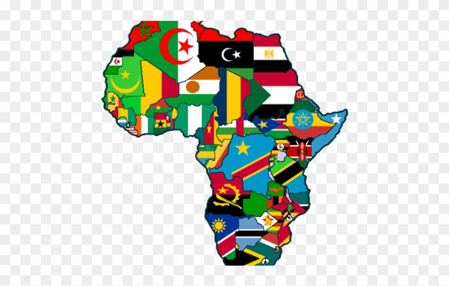 Africa Clipart African Culture   Map Of Africa Gif   Png Download