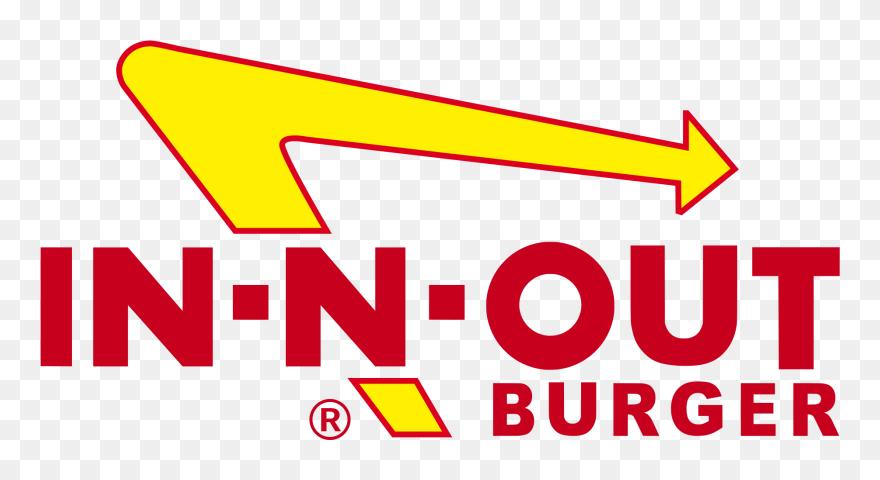 In N Out Burger Logo Inob - N Out Burger Logo Clipart