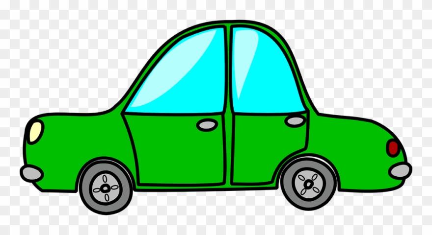 Car green. Clipart sports cartoon gif