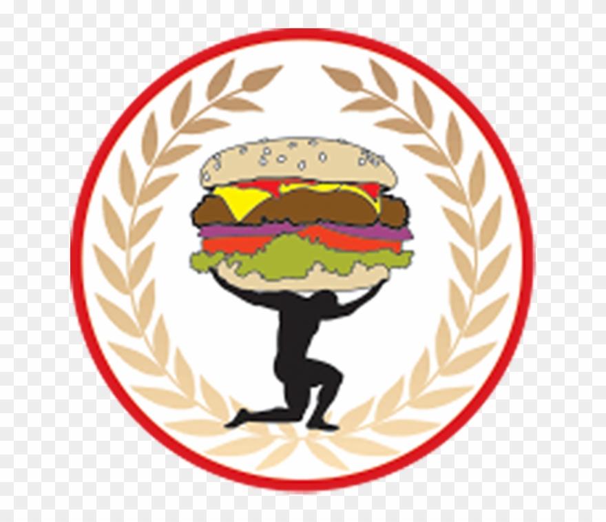 Carmel Or Mocha - Titan Burger Logo Clipart