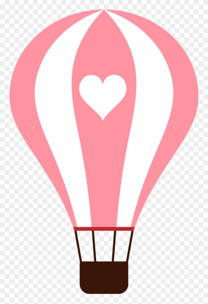 Balloon Vector Balao De Ar Quente Rosa Png Clipart 793739
