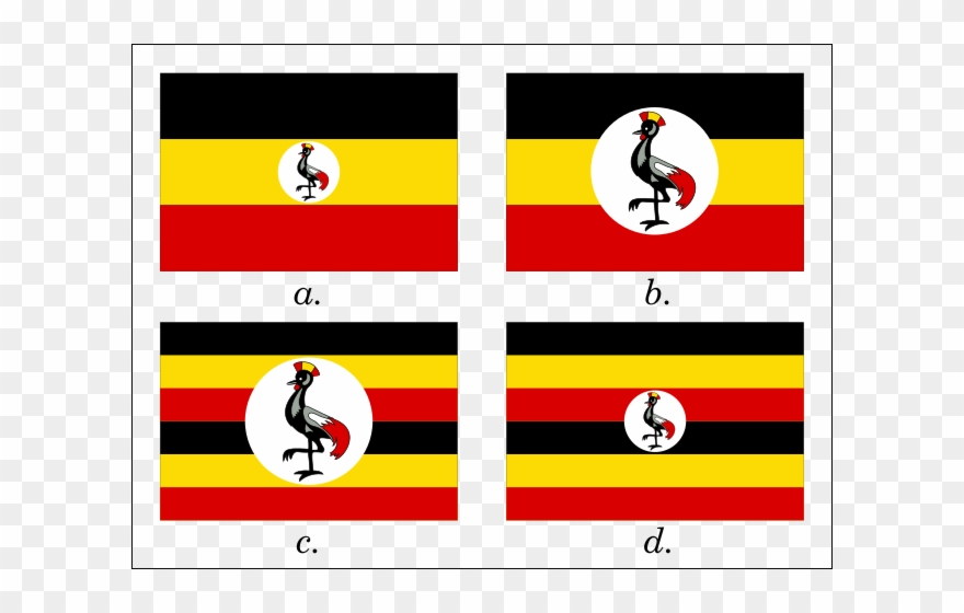 Uganda Flag With Name Clipart (#793932) - PinClipart