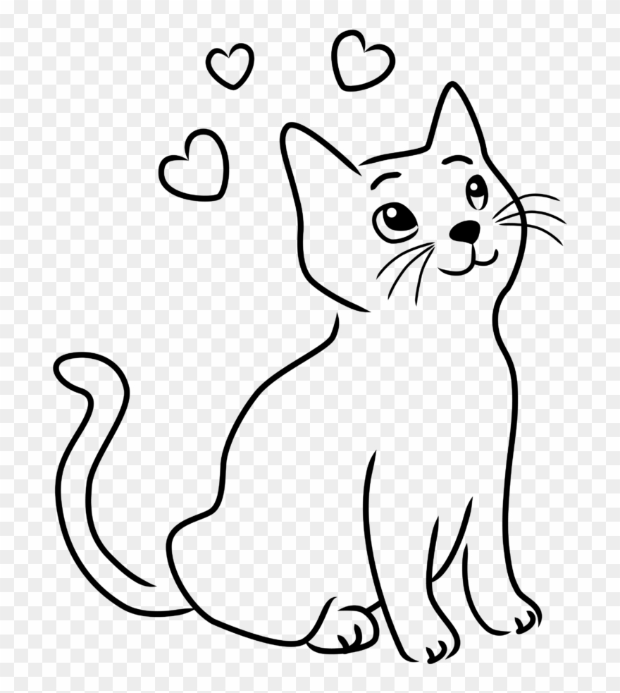Happy Cat Clipart 8 Drawings Drawing Images Of Cats Png Download 794803 Pinclipart