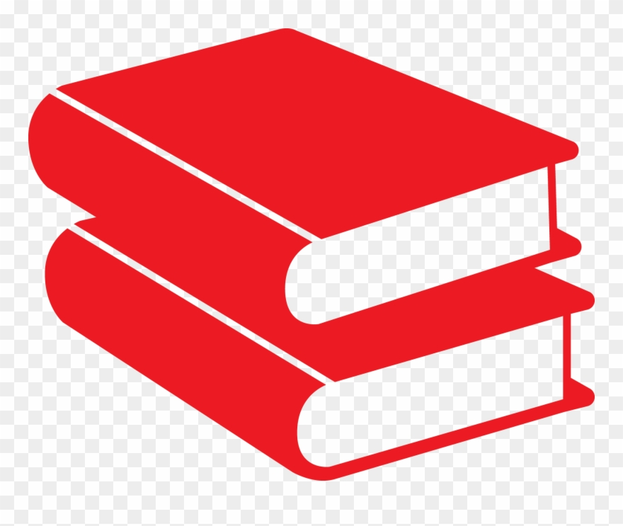 books icon png faq, accelerated reader - book red icon png clipart (#