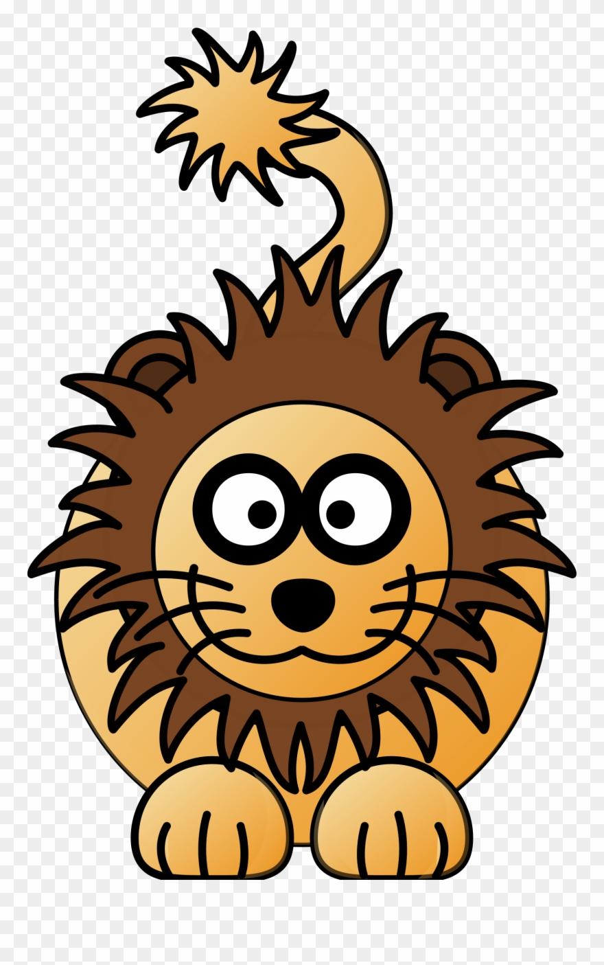 Lion cartoon. Drawing clker clipart pinclipart