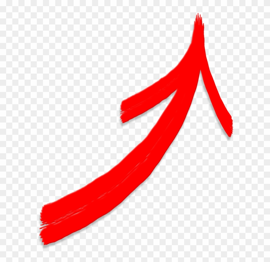 Red arrow diagonal. Black belt business curved
