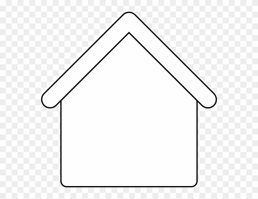Free Coloring Pages Of Cartoon House Outline