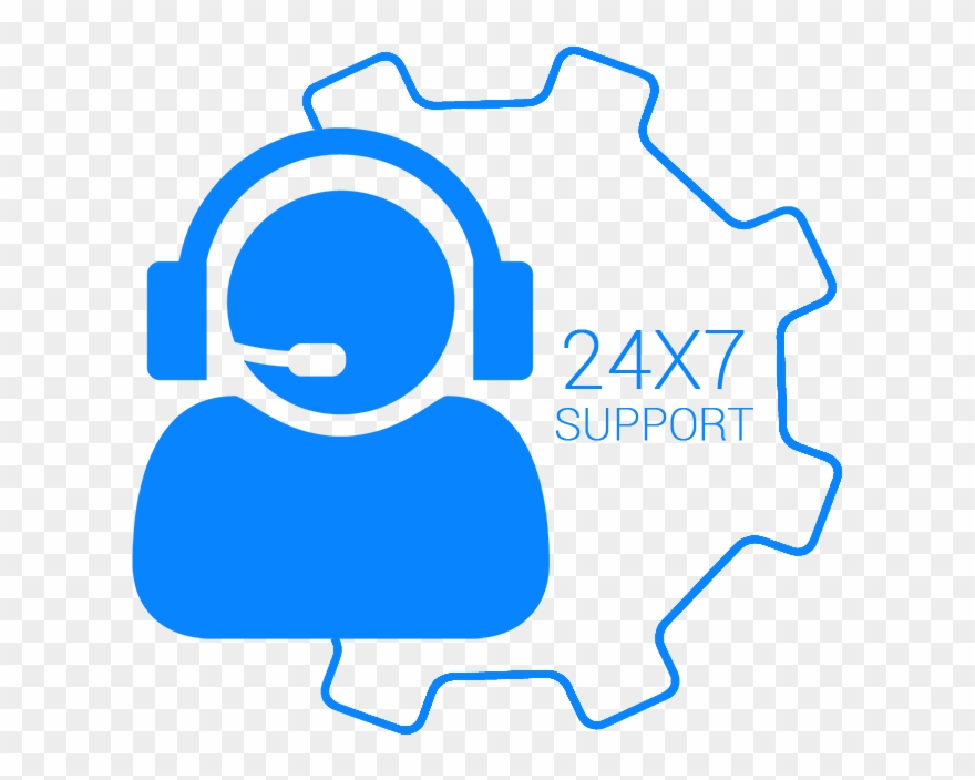 Direction Clipart Business Support Service Desk 24 7 Png