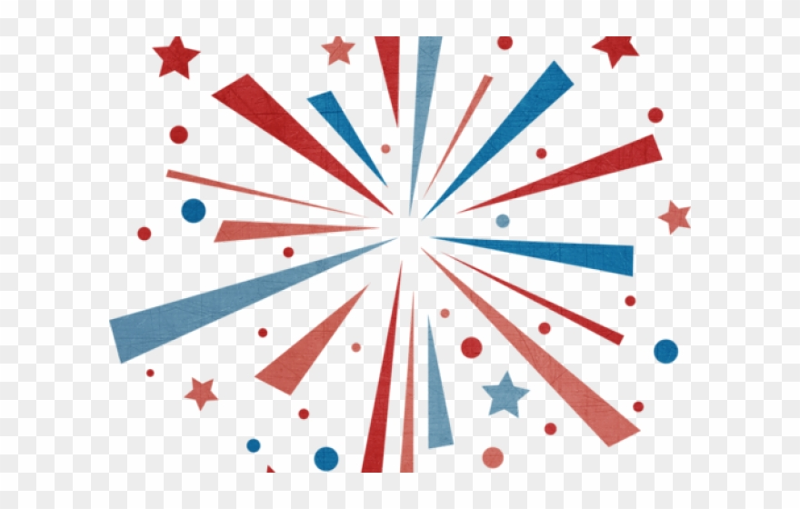 4th of july firework. Th fireworks clipart