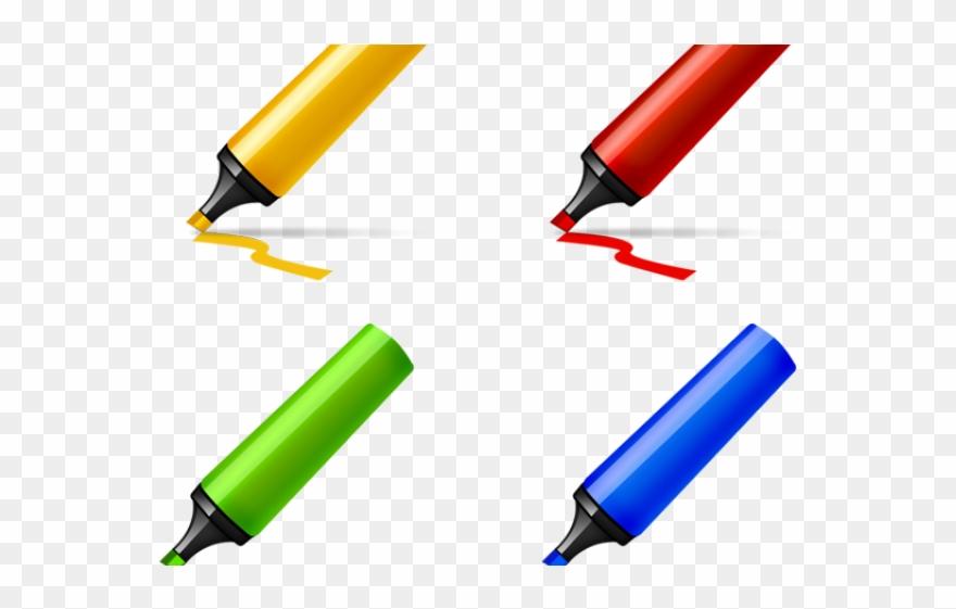 pen clipart marker pen highlighter pen graphic transparent png download 804083 pinclipart pen clipart marker pen highlighter