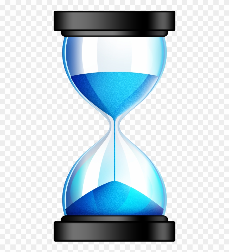 Hourglass Icon Clipart Sand Timer Transparent Background