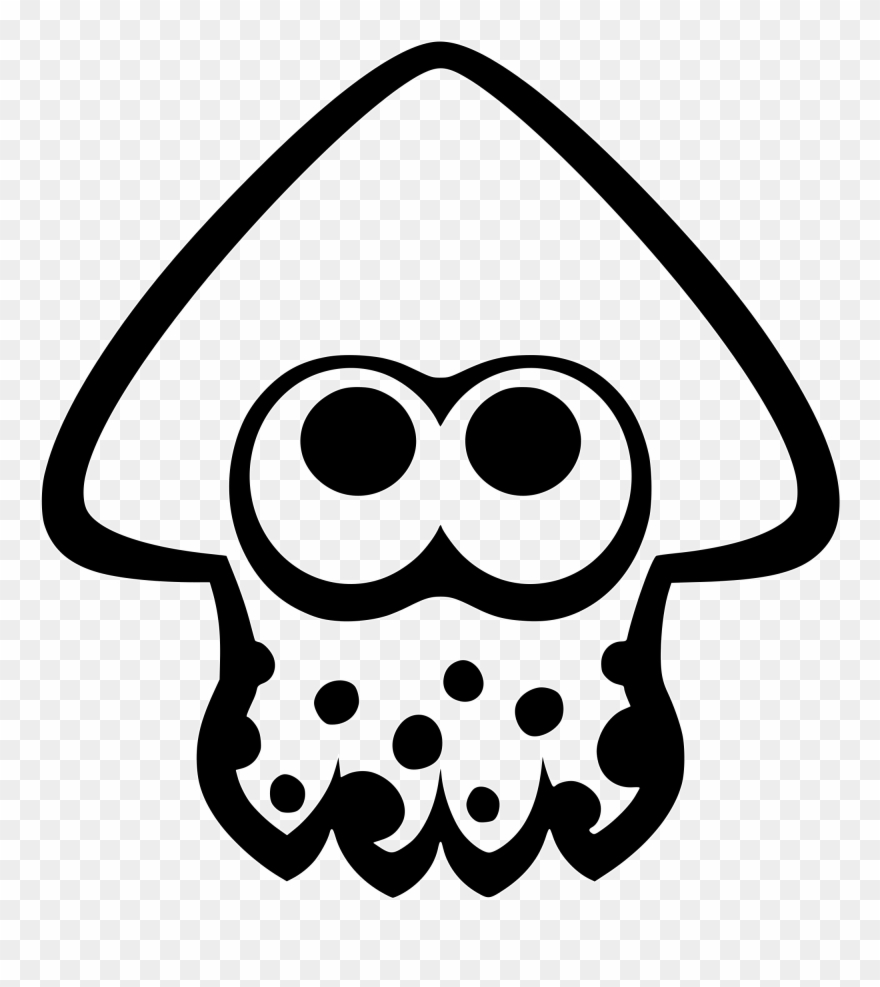 Splatoon Squid Icon Clipart 806999 Pinclipart