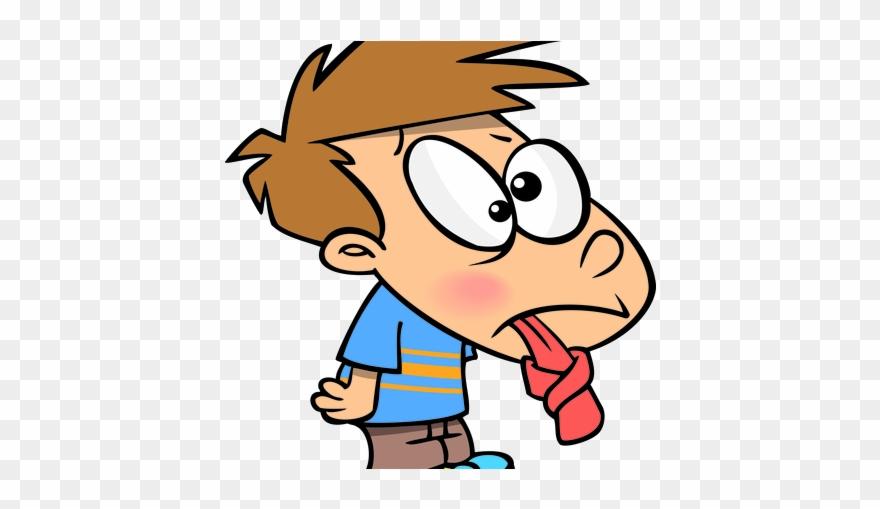 Debate Clipart Spoken English - Tongue Tied Cartoon - Png
