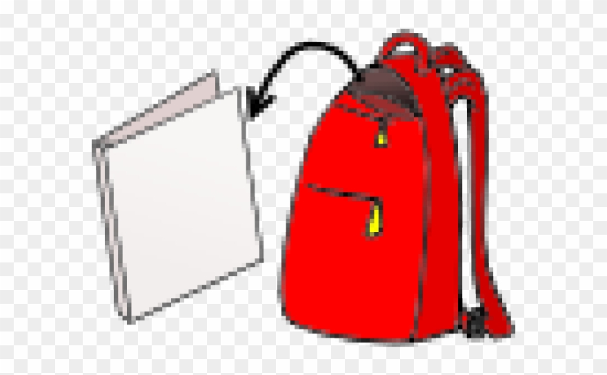 Backpack Clipart Unzip - Bag - Png Download (#812430) - PinClipart