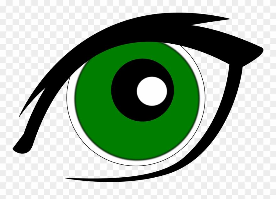 Green Clipart Eyeball - Green Eyes Clipart Png Transparent Png