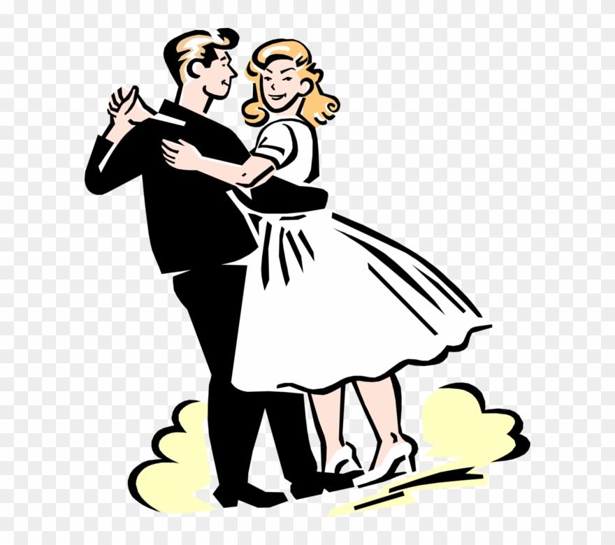Dancing Couple Fifties Clip Art at Clker.com - vector clip art online,  royalty free & public domain