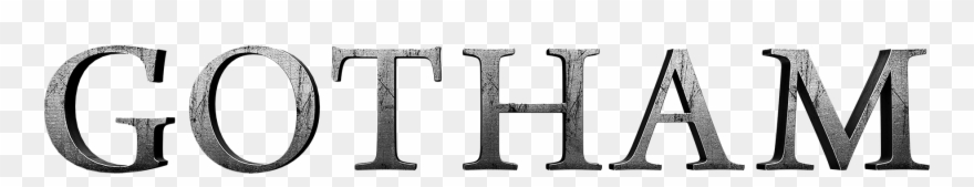 Gotham Tv Show Logo Clipart (#814308) - PinClipart