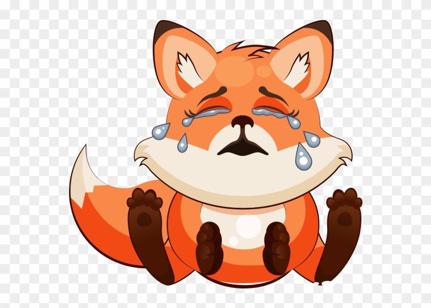 Fox Emoji Png Clip Art Black And White Download - Emoji Foz
