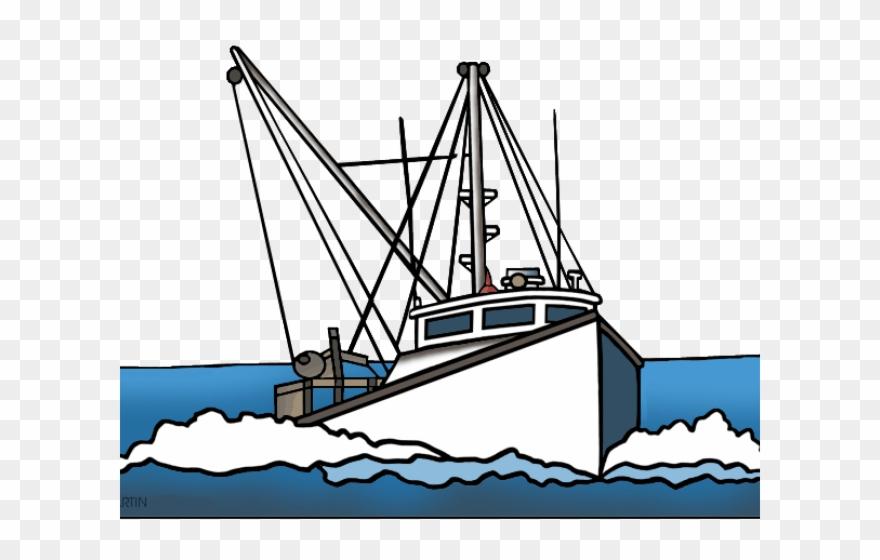 Fishing Boat Clipart Fishing Ship Trawler Clipart Png Download