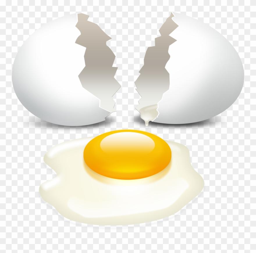 Cracked Egg Transparent Background Clipart (#815382