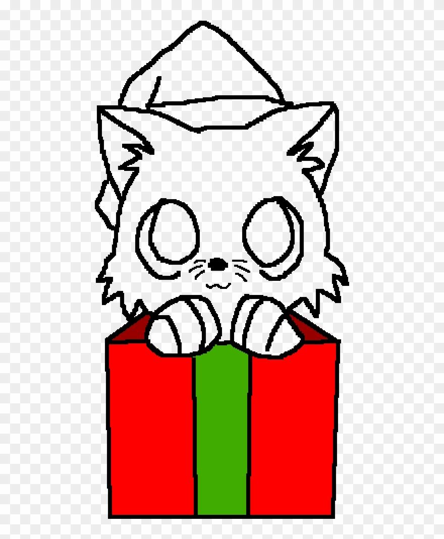 Christmas Base.Christmas Cat Base Red Transparent Cat Base Clipart