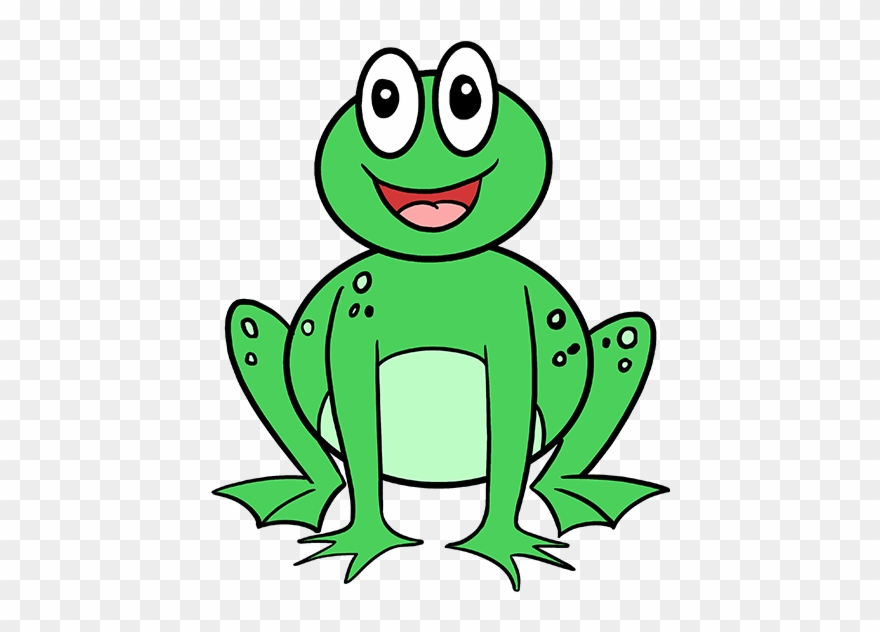 Meteoroid Drawing Simple Frog Drawing Clipart 824795