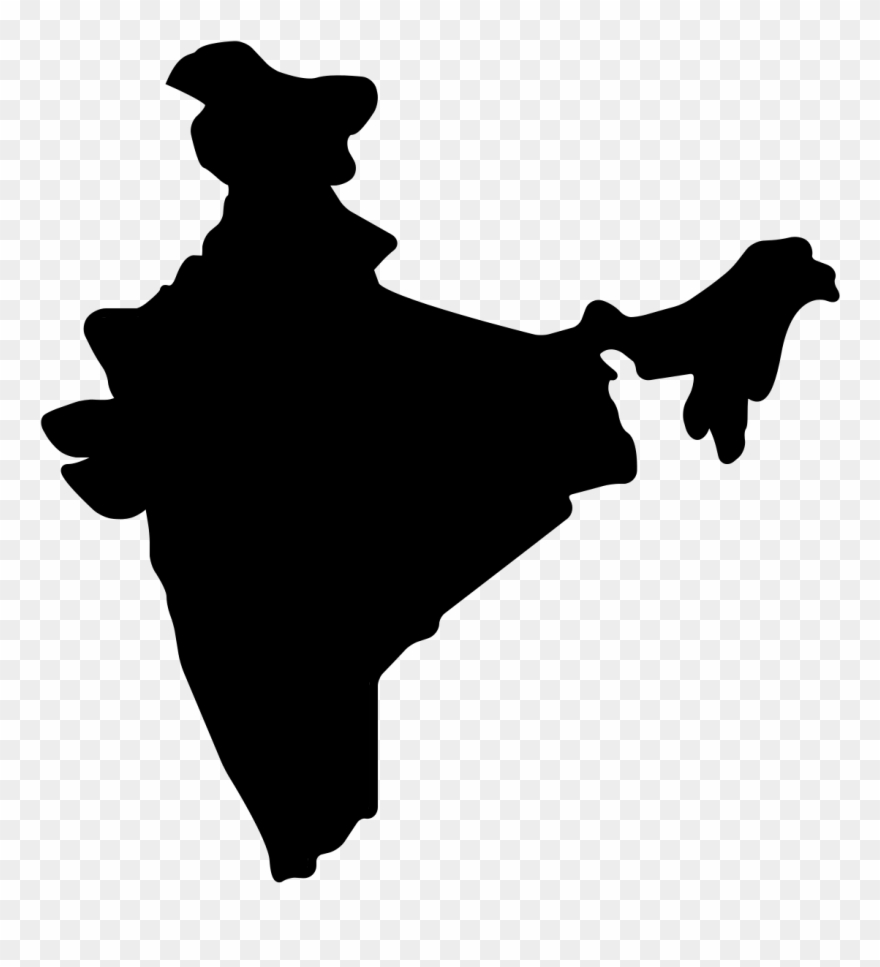 India Map Vector Language   India Map Vector Png Clipart (#824874)   PinClipart