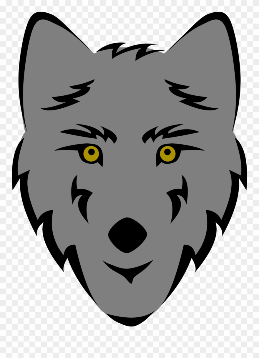 Large size of cute wolf face drawing howling wolf face drawing easy clipart