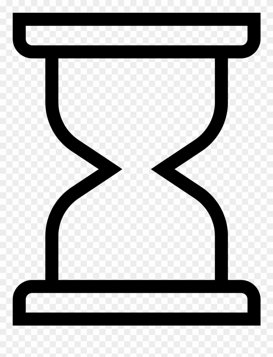 Hourglass Clipart Empty Reloj De Arena Azul Png Transparent Png