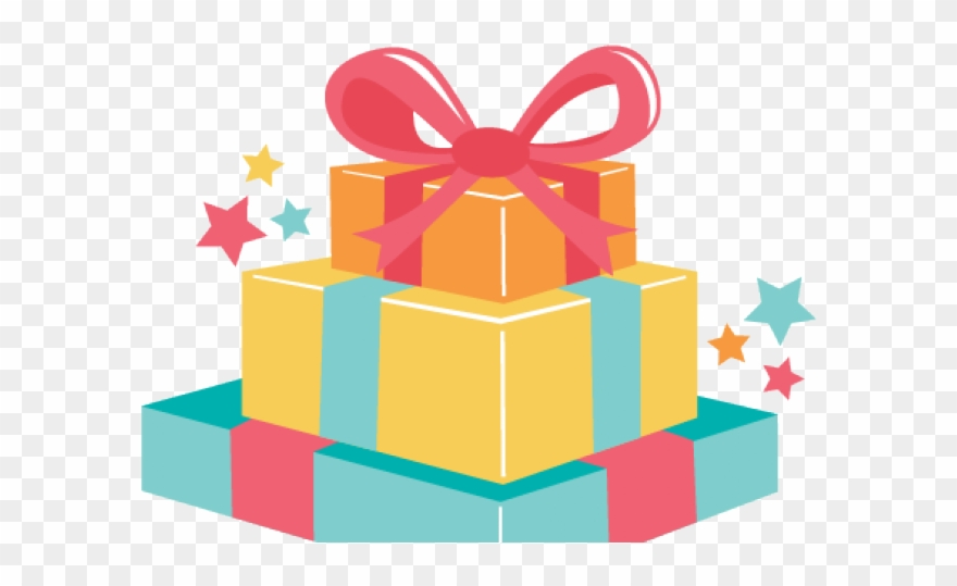 Birthday Present Clipart Clear Background