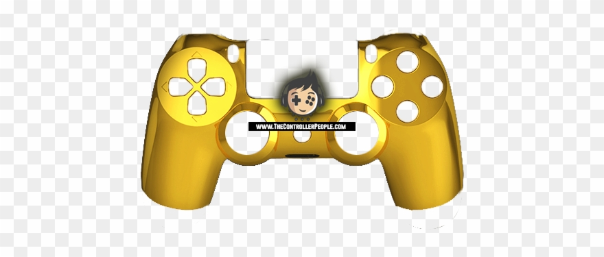 Custom Ps4 Controllers Clipart (#833904) - PinClipart