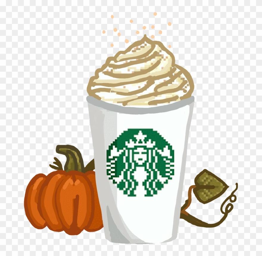 Fall Favorites Starbucks Pumkinspicelatte Pumpkins Starbucks Pumpkin Spice Latte Transparent Clipart 837187 Pinclipart