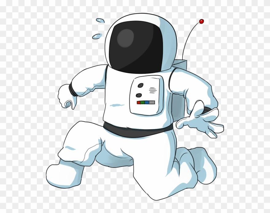 retro astronaut clip art - 880×693