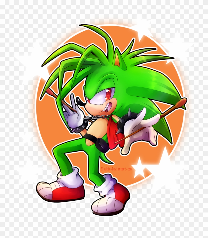 Speed Paint Sonic The Hedgehog The Flash Characters Awesome Manic The Hedgehog Clipart 840334 Pinclipart