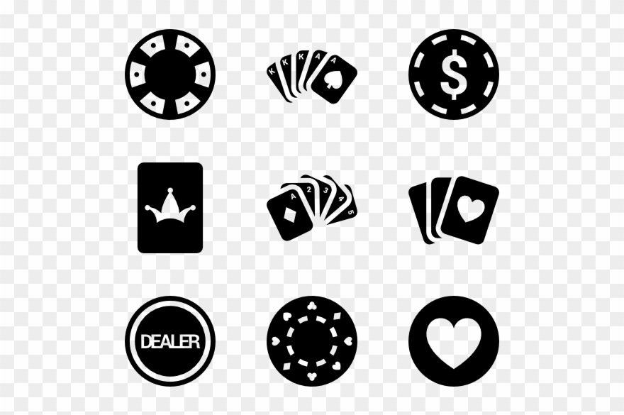 Poker Vector Poker Vector Free Png Clipart 841800 Pinclipart