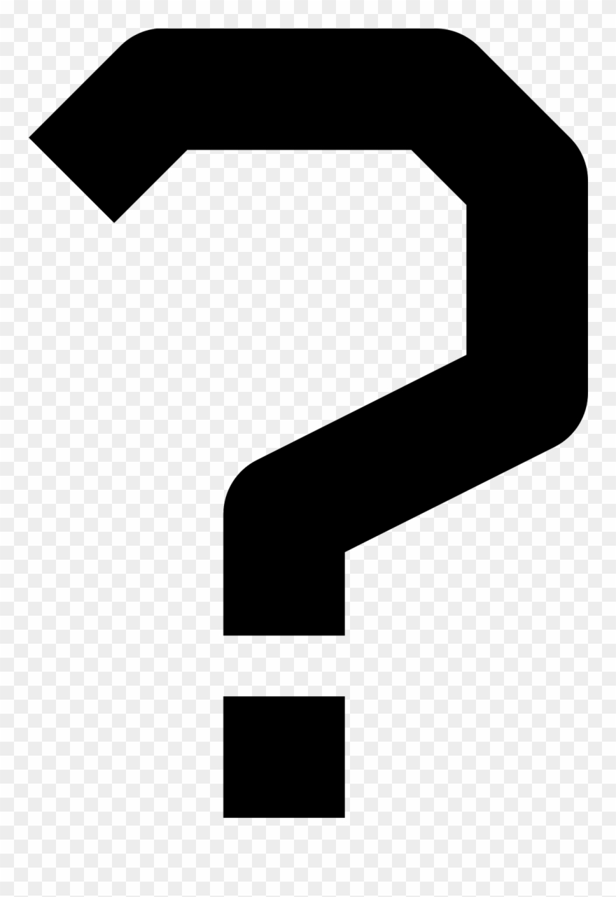 Question Mark Png Interrogation Point Png Clipart 844193 Pinclipart