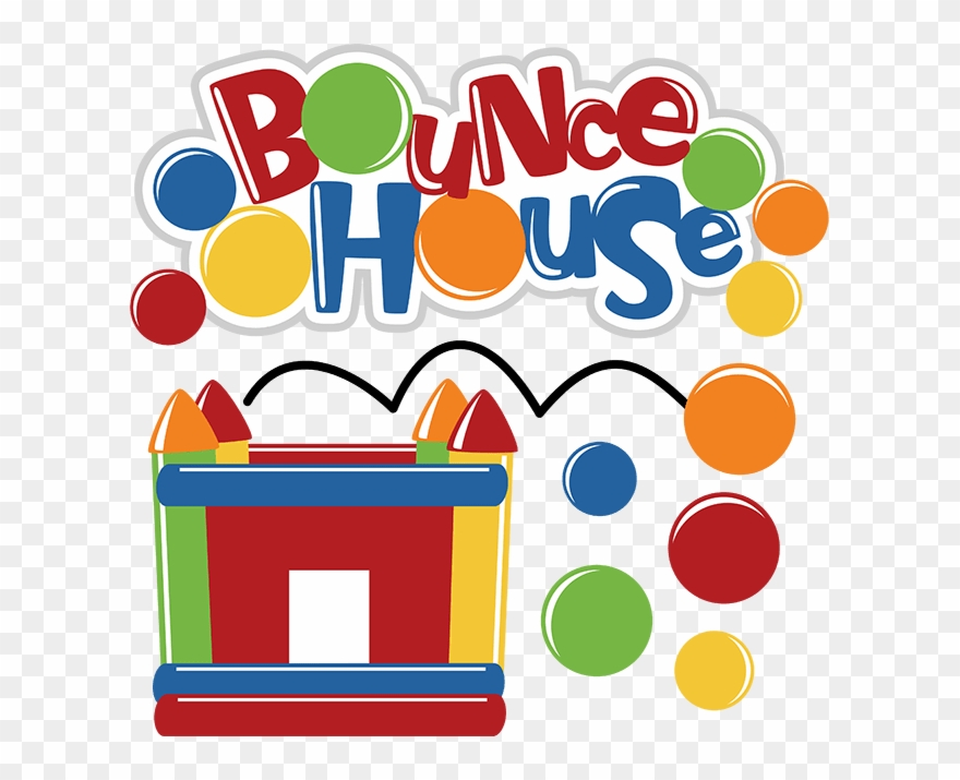 Bounce House Sign Clipart