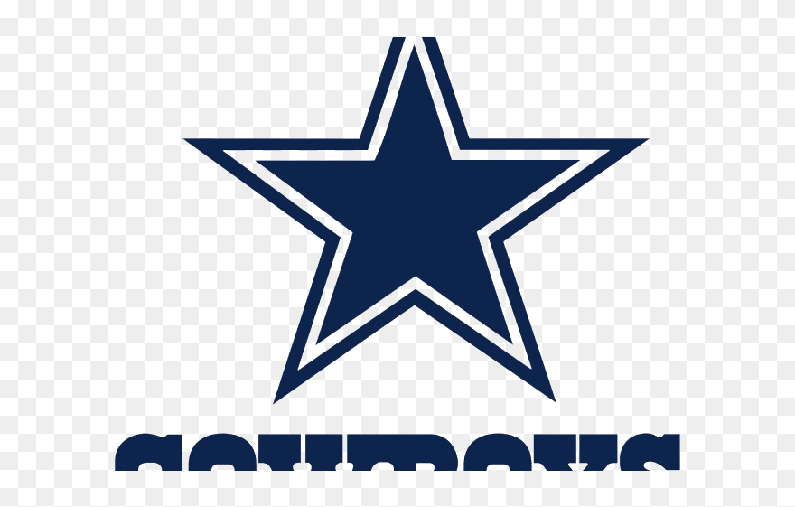Dallas Cowboys Clipart - Fathead Nfl Logo Wall Decal; Dallas Cowboys - Png Download