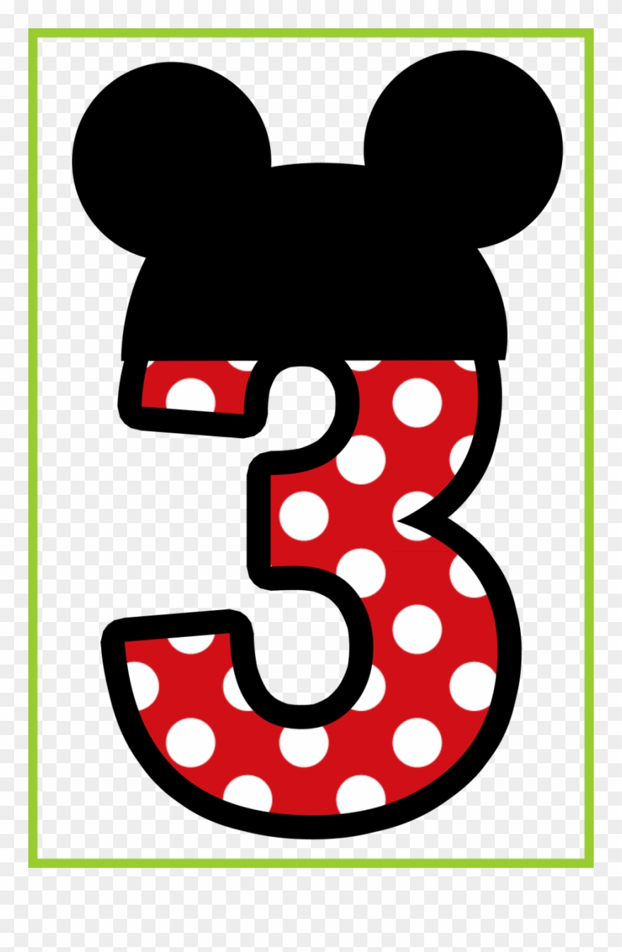 Minnie mouse number 3. Clipart shoes mickey png