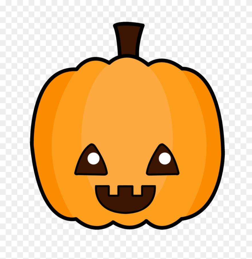 Pumpkin cartoon. Coloring pages cute pumpkins