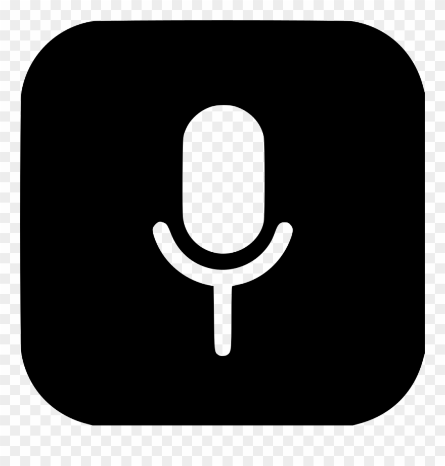 Mic Recoder Voice Sound Microphone Speak Png Make Up Icon Png White Clipart 849728 Pinclipart